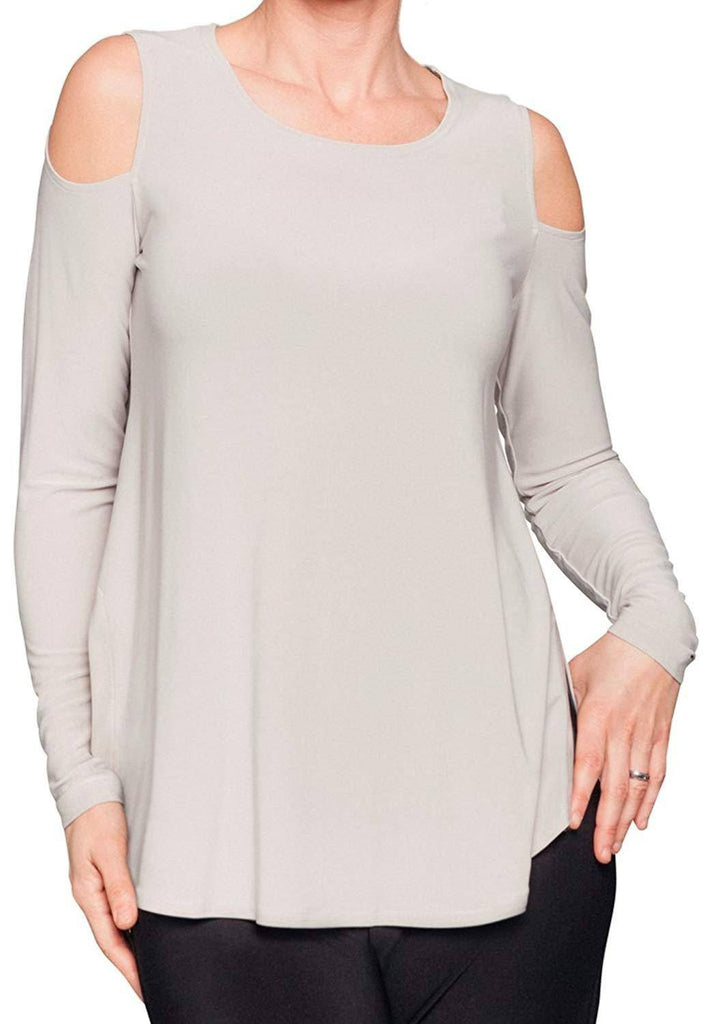 Sympli Womens Nuglimpse Top Long Sleeves - A Dream Fit