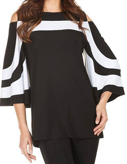 Frank Lyman Womens Belle Sleeve Top - a-dream-fit.myshopify.com