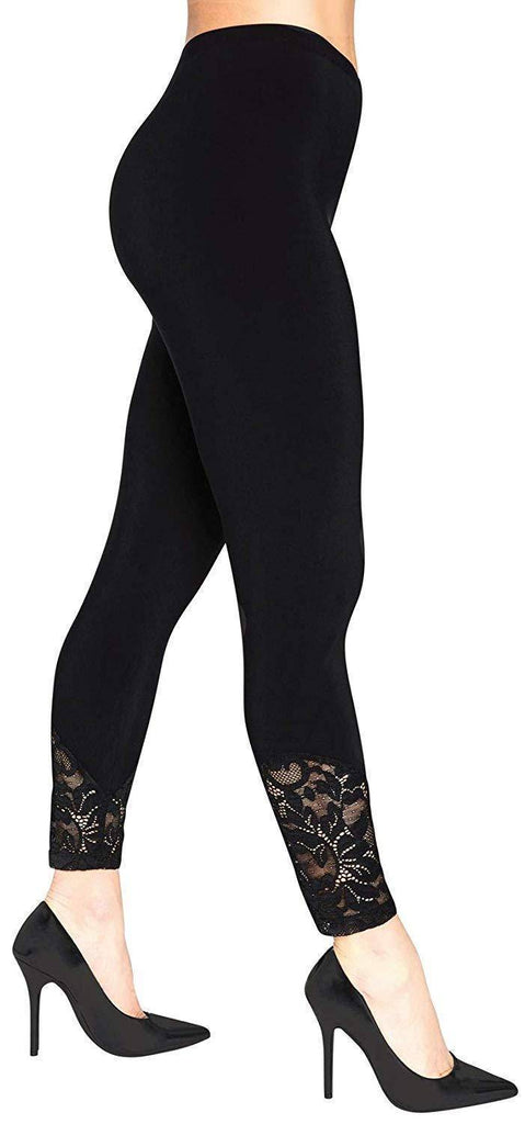 Sympli Womens Lace Legging - a-dream-fit.myshopify.com