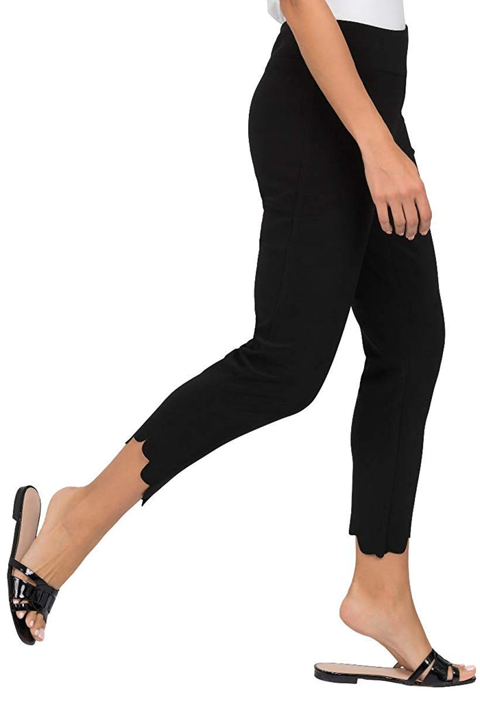 Joseph Ribkoff Womens Scallop Pant Style 191105 - a-dream-fit.myshopify.com