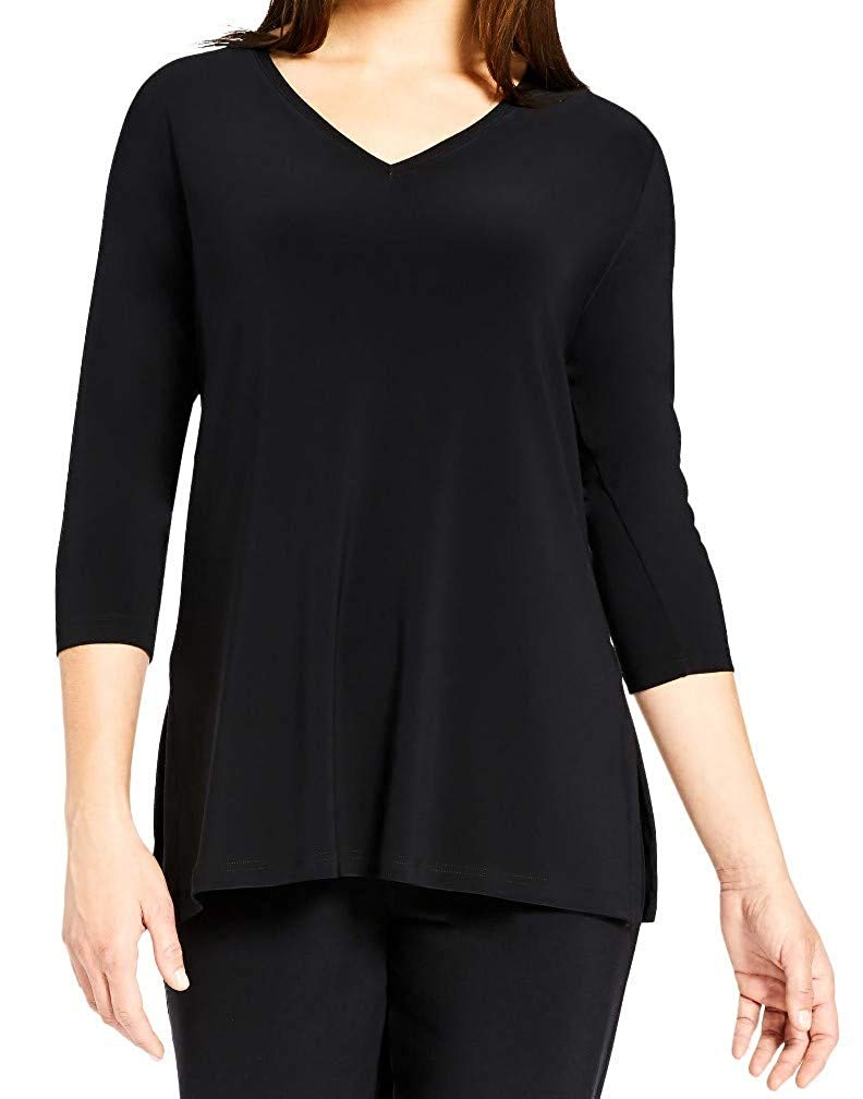 Sympli Womens Go to V-Neck T Relax Top Style 22170-2 - a-dream-fit.myshopify.com