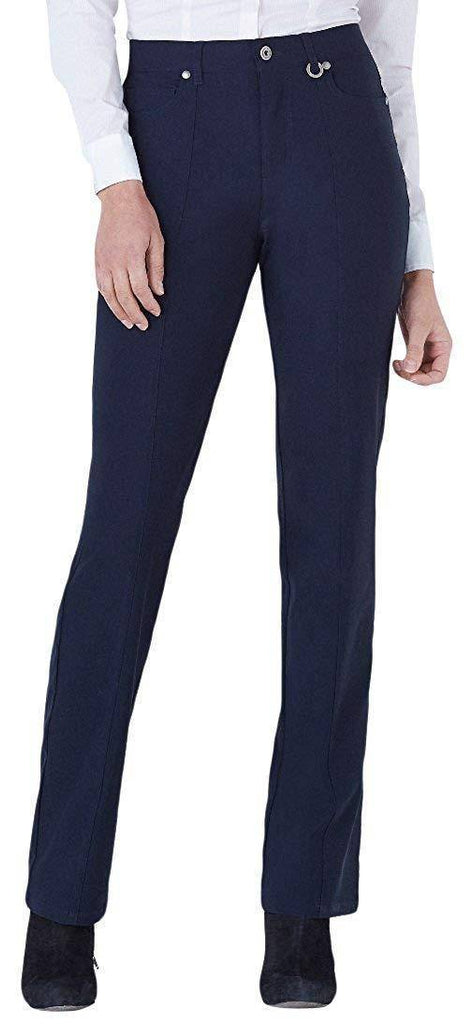 "Simon Chang Canada Womens Micro Twill Straight Pants Inseam 30"" - a-dream-fit.myshopify.com"