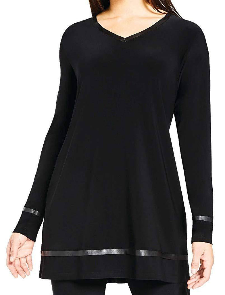 Sympli Womens Frame V-Neck Tunic - A Dream Fit