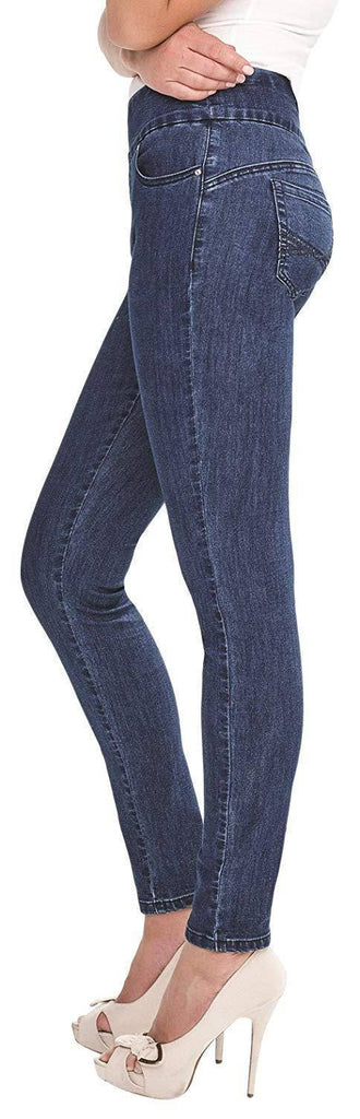 Simon Chang Canada Womens Tummy Control Pull On Jeans - a-dream-fit.myshopify.com