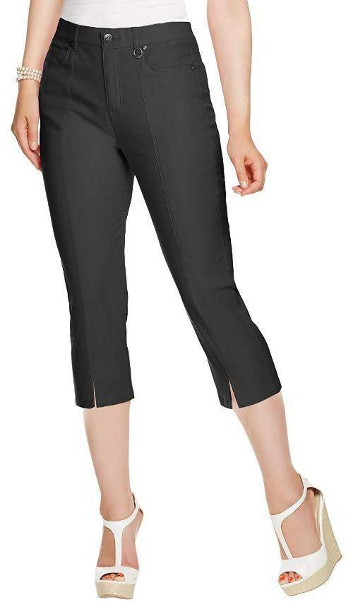 Simon Chang Canada Womens Micro Twill Capri - a-dream-fit.myshopify.com