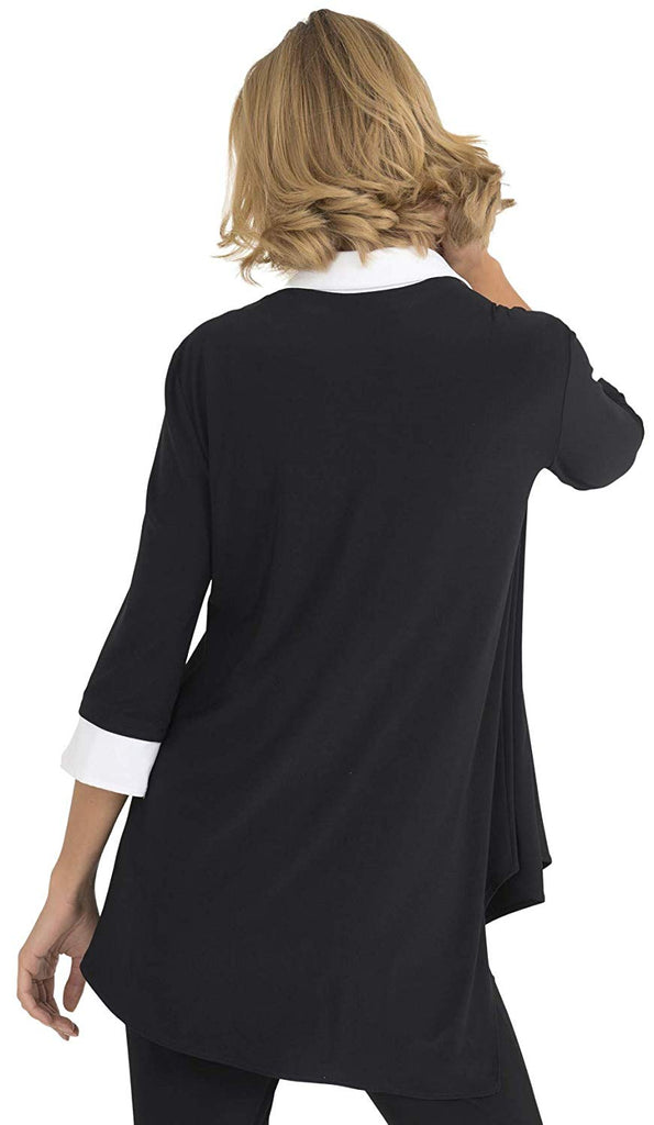 Joseph Ribkoff Womens Collared Tunic Style 193415 - a-dream-fit.myshopify.com