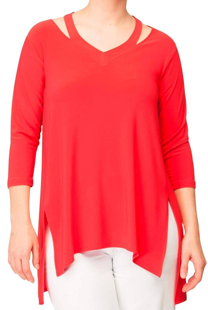 Sympli Womens Verve Top 3/4 Sleeves - A Dream Fit