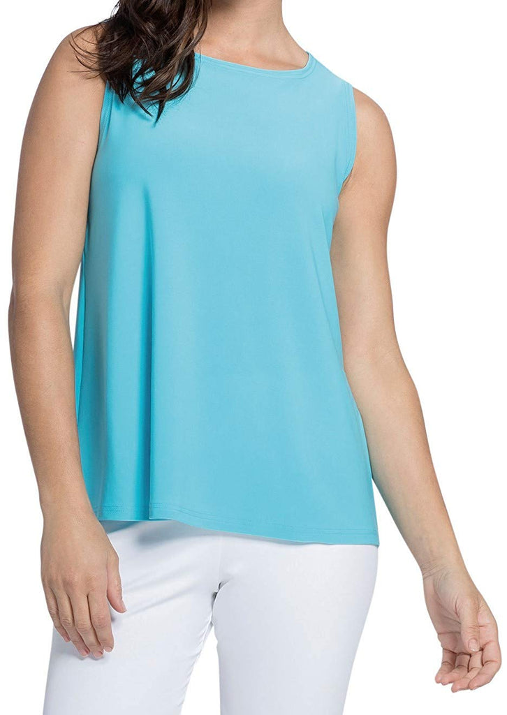 Sympli Womens Trapeze Tank Top Style 21155 - a-dream-fit.myshopify.com