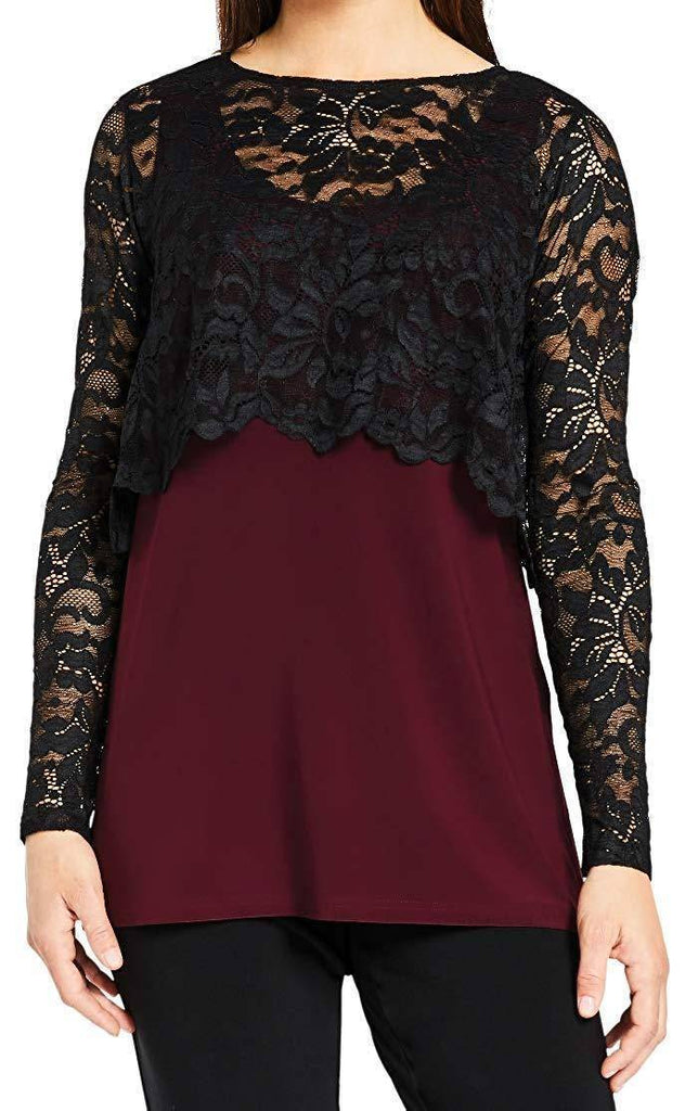 Sympli Womens Lace Shorty Top - a-dream-fit.myshopify.com