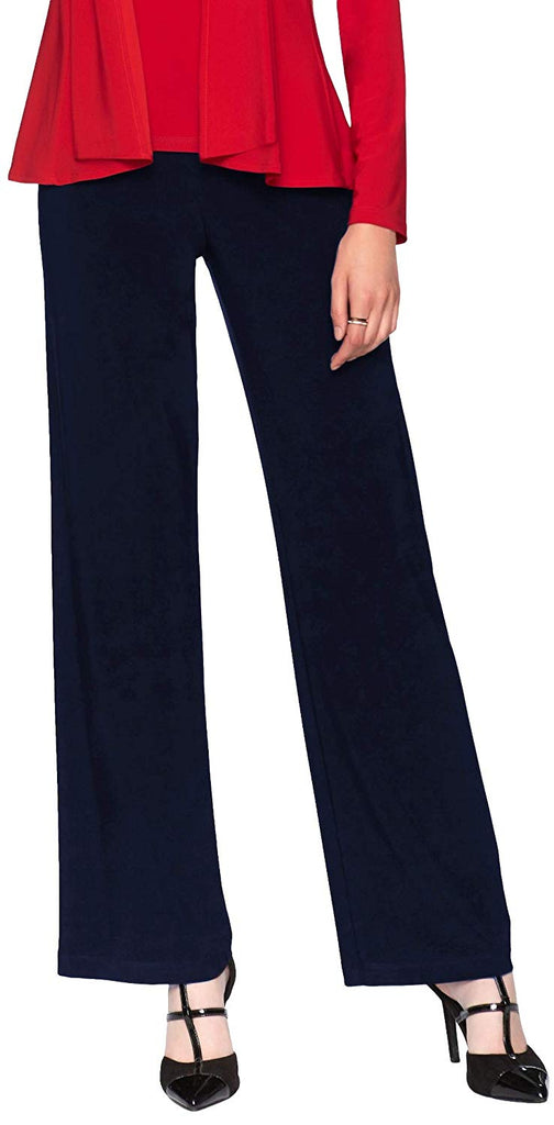 Frank Lyman Womens Pull On Straight Pant Style 006 - a-dream-fit.myshopify.com