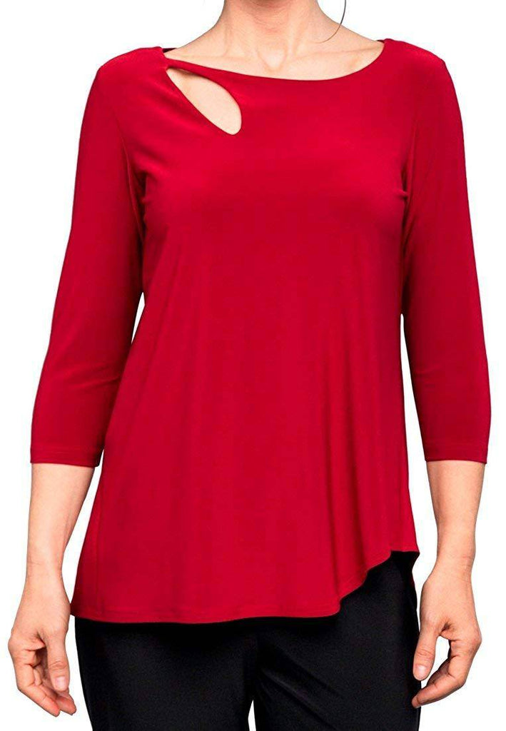 Sympli Womens Fortune Top 3/4 Sleeves - a-dream-fit.myshopify.com