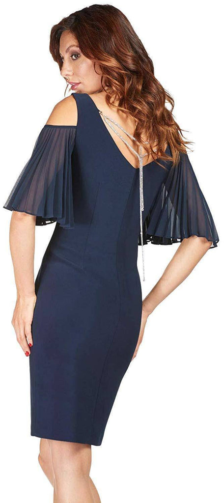 Frank Lyman Womens Midnight Dress