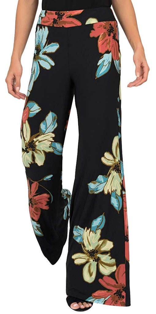 Joseph Ribkoff Womens Floral Pant Style 191635 - a-dream-fit.myshopify.com