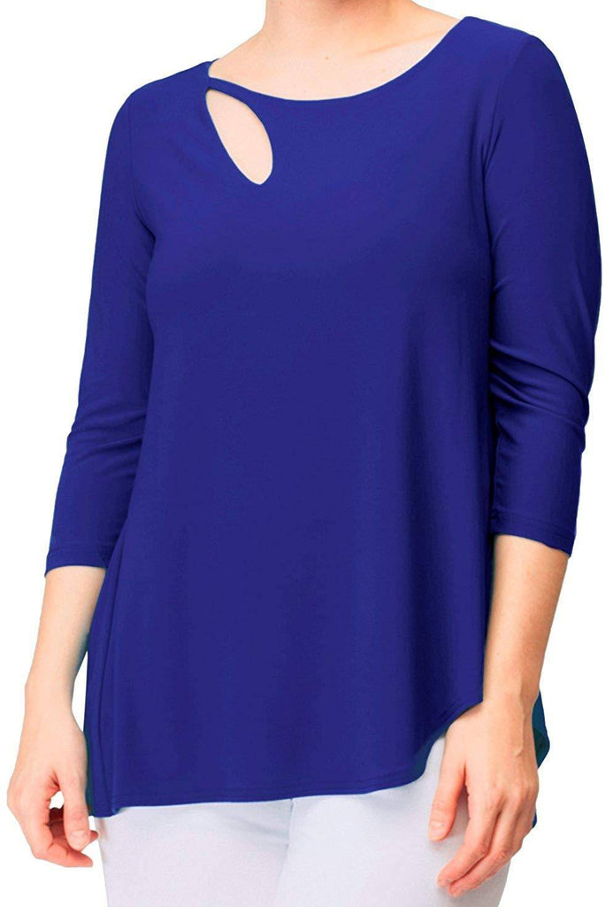 Sympli Womens Fortune Top 3/4 Sleeves - A Dream Fit