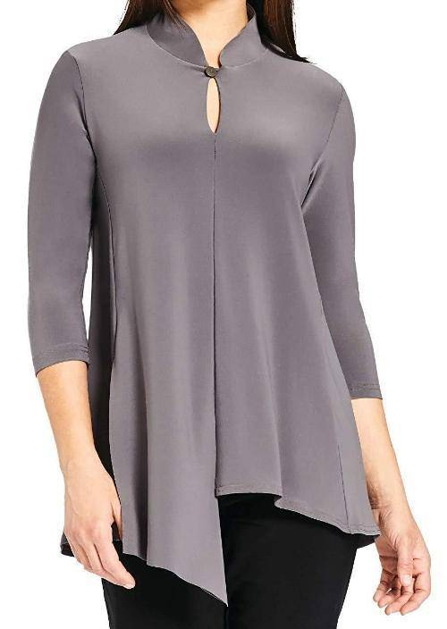 Sympli Womens Double Over Top, 3 Colors