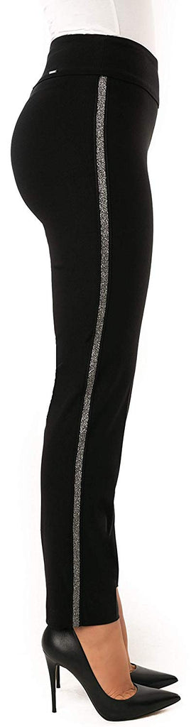 UP Womens Slim Ankle Pants Flatten and Flatter Style 66555 Techno - a-dream-fit.myshopify.com