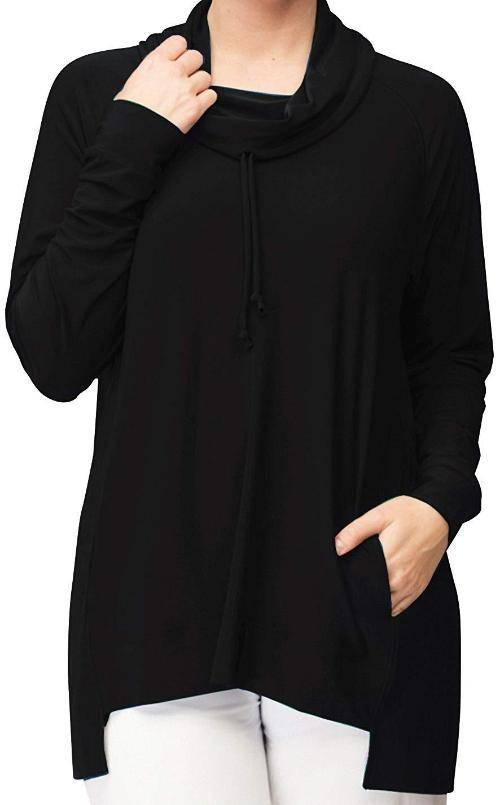 Sympli Womens Energy Sweatshirt Long Sleeves - A Dream Fit