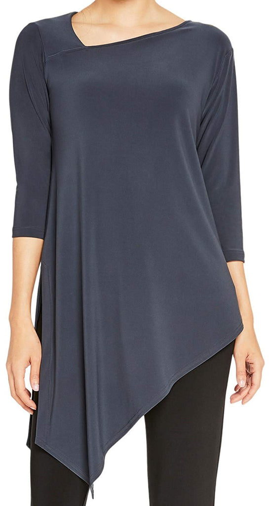 Sympli Womens Slant Tunic 23143-3 - a-dream-fit.myshopify.com