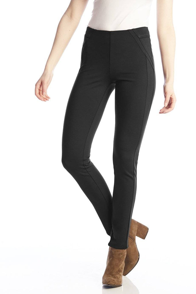 UP Womens Flatten and Flatter Thinny Pants Armani Waistband Ponte - a-dream-fit.myshopify.com