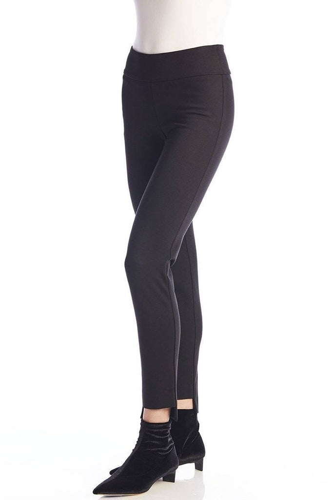 UP! Womens Flatten and Flatter Slim Ankle Pants High-Lo Ponte - A Dream Fit