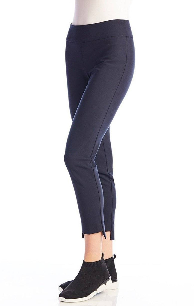 UP! Womens Flatten and Flatter Slim Ankle Pants High-Low Cavalli Twill - a-dream-fit.myshopify.com