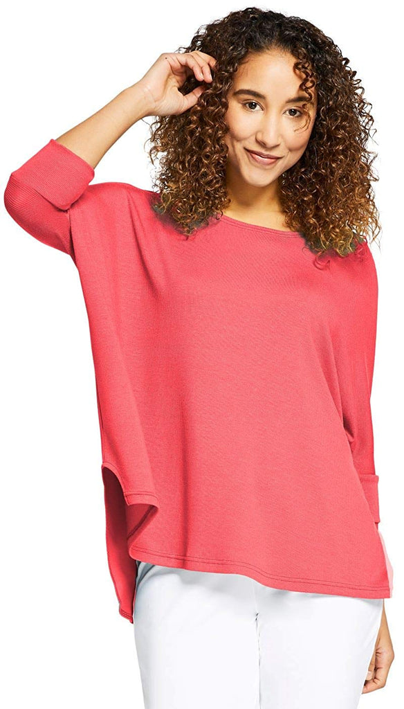 Sympli Womens Edge Boxy Top Style L7226-4 - a-dream-fit.myshopify.com