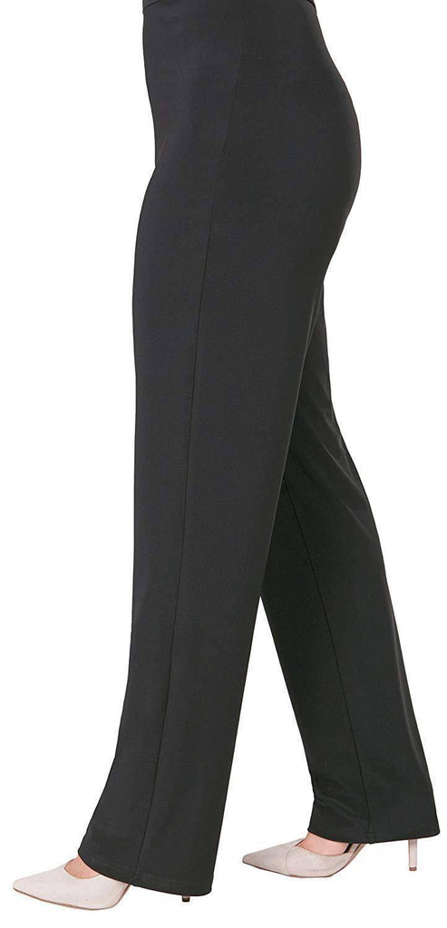 Sympli Womens Plus Size Essential Pant, 2 Colors
