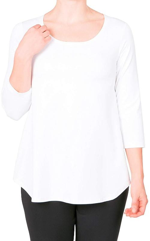 Sympli Womens Go to Classic T Relax, 8 Colors - a-dream-fit.myshopify.com