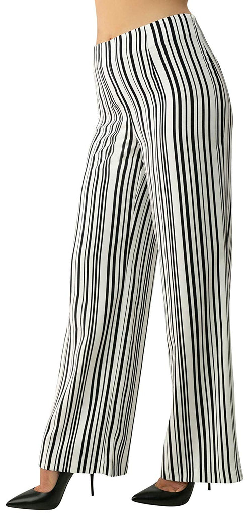 UP Womens Palazzo Pants Style 66860 Stripes, Inseam 31""