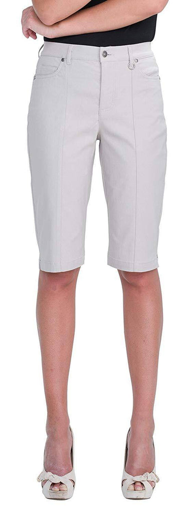 Simon Chang Canada Womens Micro Twill Bermuda - a-dream-fit.myshopify.com