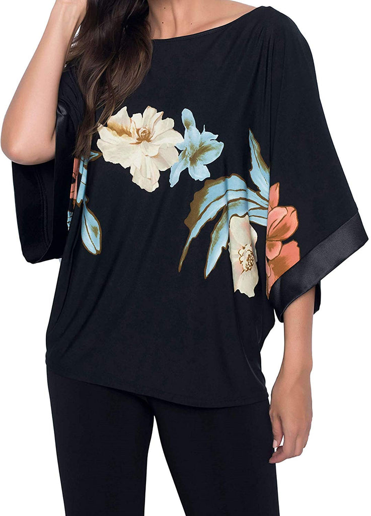 Frank Lyman Womens Floral Top Style 186884 - a-dream-fit.myshopify.com