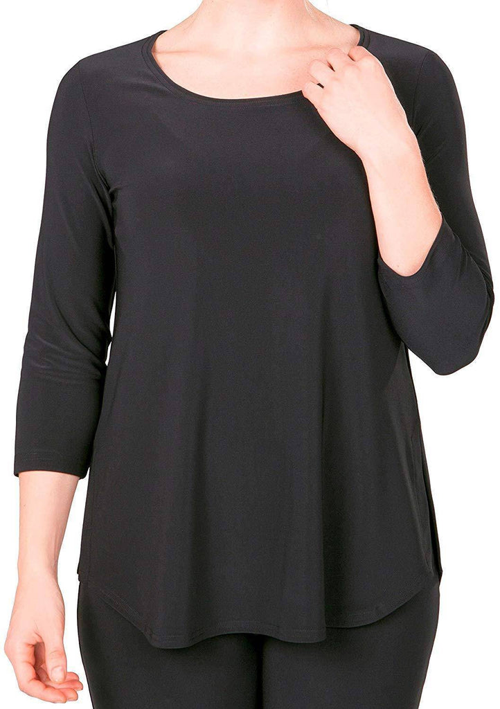 Sympli Womens Plus Size Go to Classic T Relax, 7 Colors