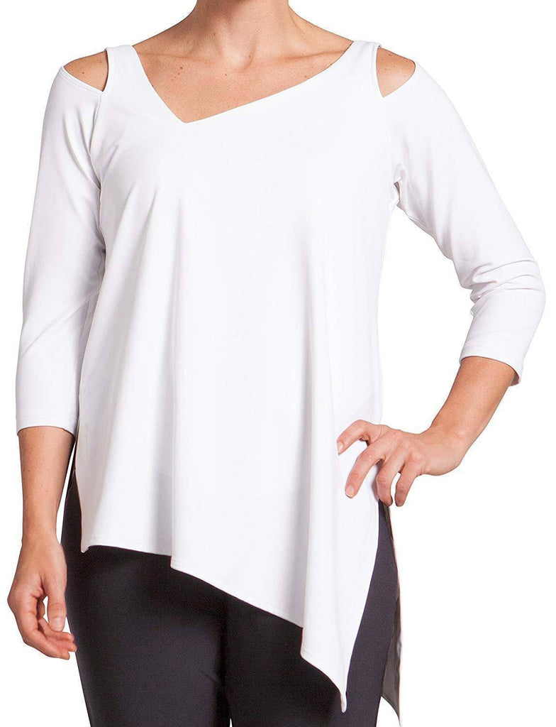 Sympli Womens Focus Tunic 3/4 Sleeves - a-dream-fit.myshopify.com