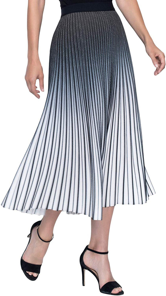 Frank Lyman Womens Pleated Midi Skirt Style 196098U - a-dream-fit.myshopify.com