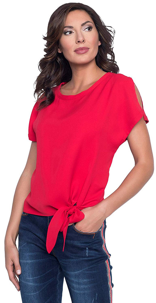 Frank Lyman Womens Woven Top Style 181224 - a-dream-fit.myshopify.com