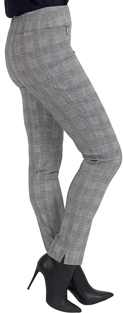 Joseph Ribkoff Womens Plaid Pant Style 193830 - a-dream-fit.myshopify.com
