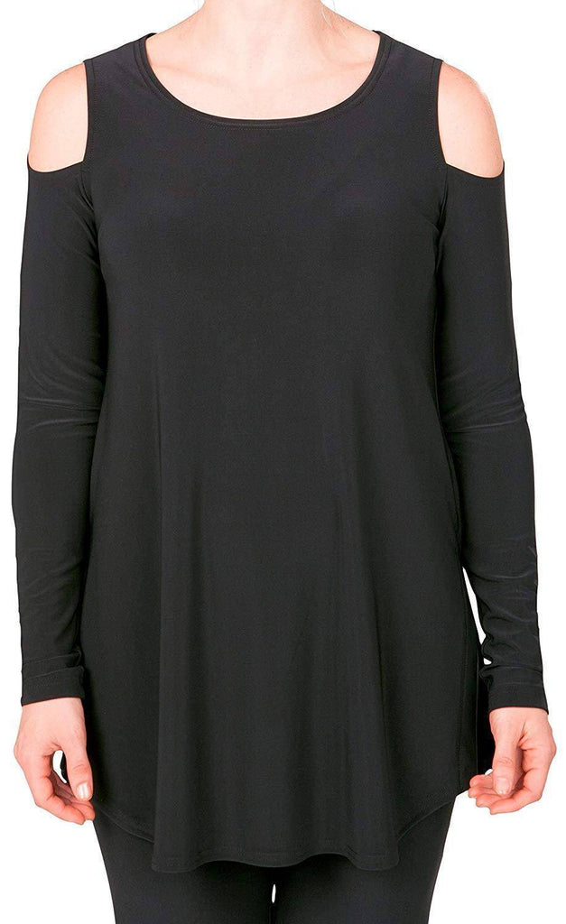 Sympli Womens Nuglimpse Tunic Long Sleeves - A Dream Fit