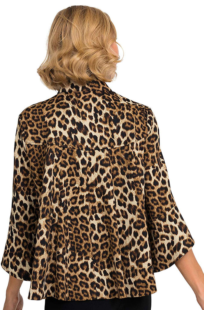 Joseph Ribkoff Womens Leopard Jacket - a-dream-fit.myshopify.com