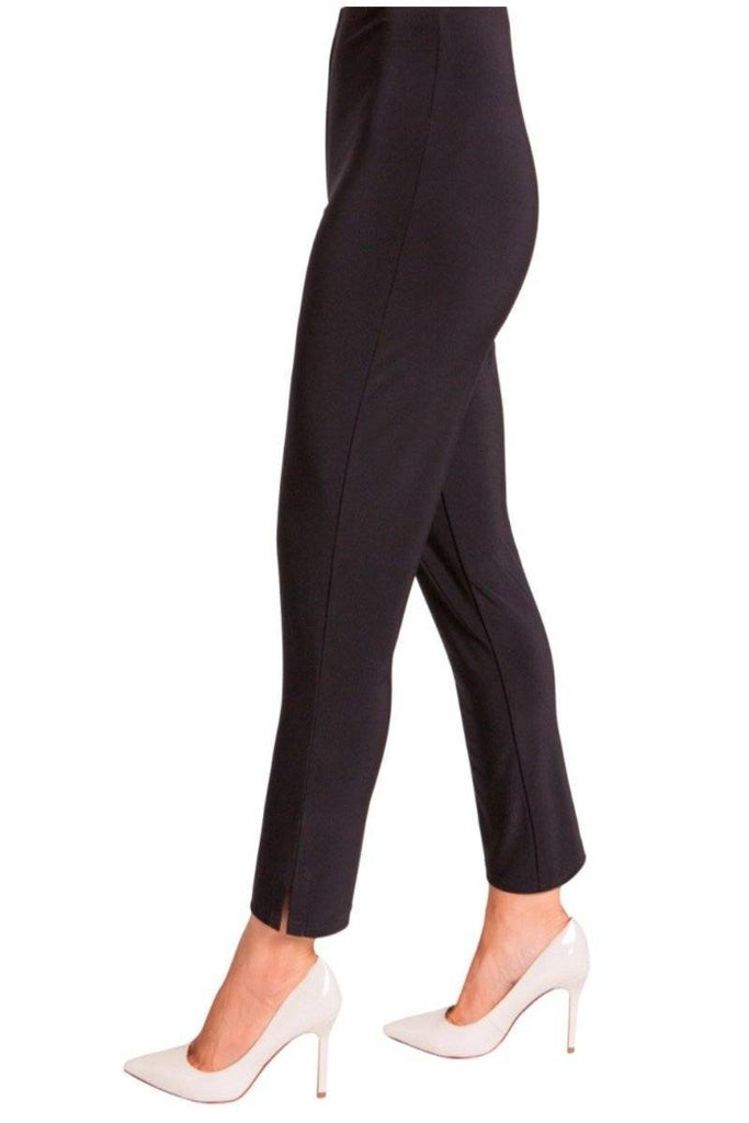 Sympli Womens Plus Size Narrow Pant Midi, 2 Colors