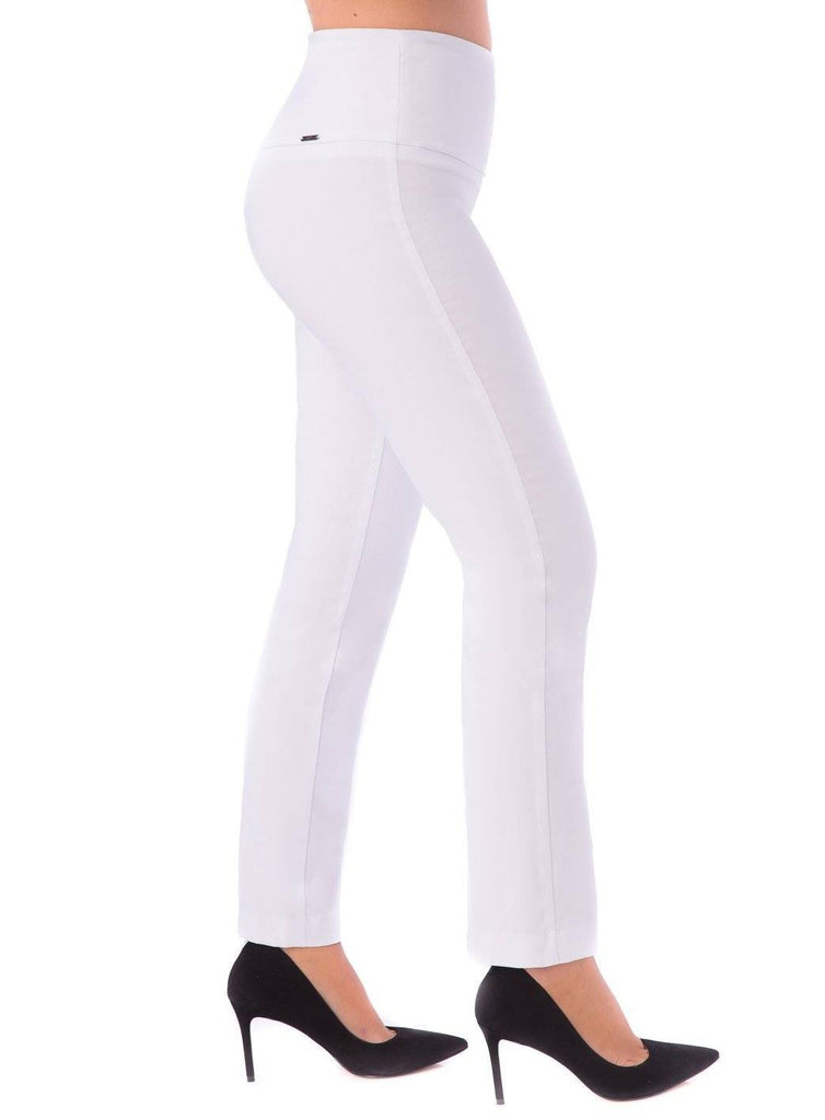 "UP! Womens Flatten and Flatter Skinny Leg Pants Illusion Waistband 31"" Inseam - a-dream-fit.myshopify.com"