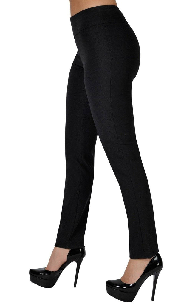 "UP! Womens Flatten and Flatter Skinny Leg Pants, Techno, Inseam 31"", 2 Colors - a-dream-fit.myshopify.com"