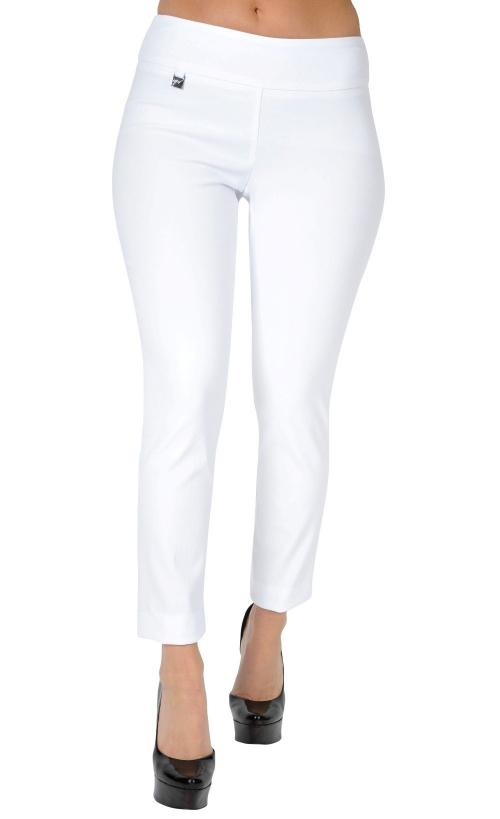 "UP! Womens Flatten and Flatter Slim Ankle Pants 28"" Inseam, Techno, 6 Colors - a-dream-fit.myshopify.com"