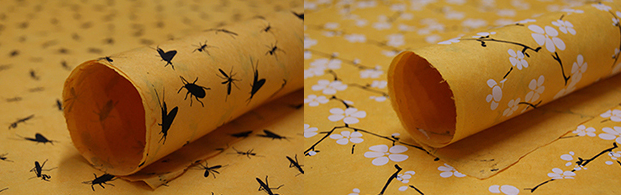 Lotka Paper.  Biodegrable wrapping paper