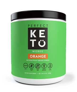 Perfect Keto Greens Powder With MCTs