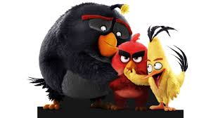 red angry birds marrant mignon et drôle