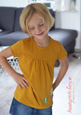 Girly Shirt naehen fuer kinder