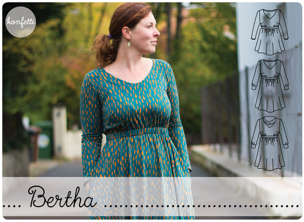 Bertha konfetti patterns
