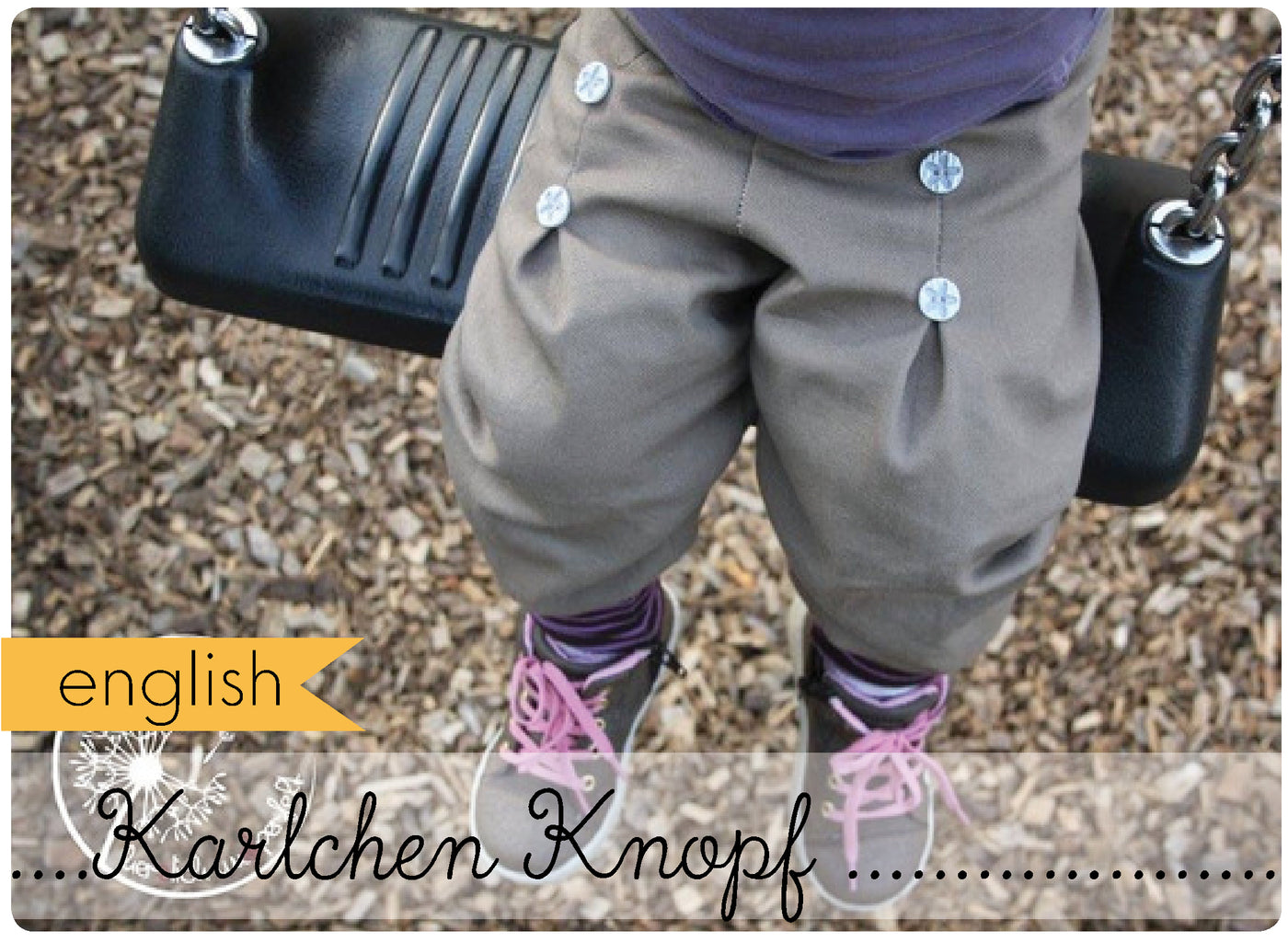 Karlchen Knopf baggy trousers (english)