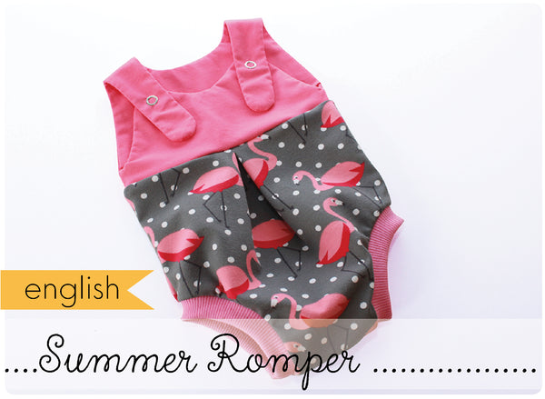 Summer Romper for Babys (english)