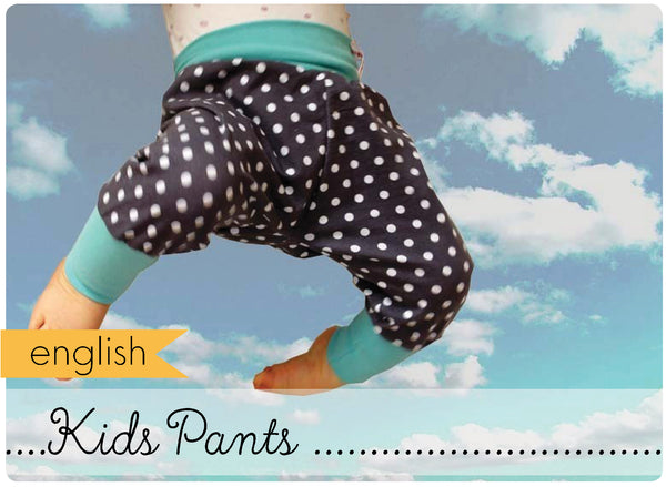 Kids Pants / Harem Pants (english)